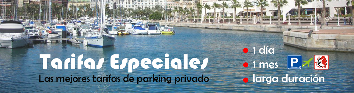Parking aeropuerto alicante -Tarifas